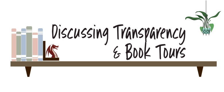 Discussing Transparency & Book Tours